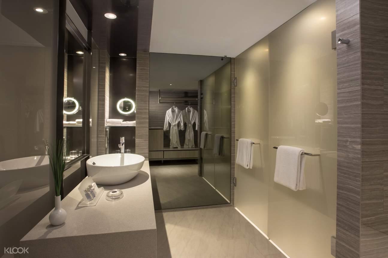 Carlton Deluxe Room - Bathroom